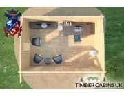 Log Cabin Warrington 5m x 3.5m 006