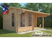 Log Cabin Waveney 4.75m x 2.95m 001