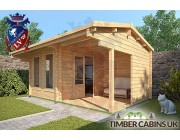 Log Cabin Waveney 4.75m x 2.95m 002