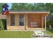 Log Cabin Waveney 4.75m x 2.95m 003