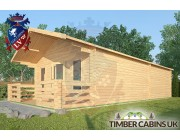 Log Cabin Wennington 5m x 9m 002