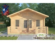Log Cabin Wennington 5m x 9m 003