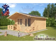 Log Cabin West Lancashire 4.5m x 3.6m 002