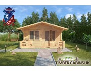 Log Cabin West Lancashire 4.5m x 3.6m 003