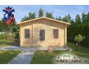 Log Cabin West Wiltshire 6.4 x 7.6m 003