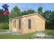 Log Cabin Whitewell 4.5m x 5.5m 002