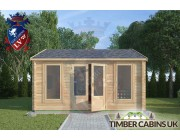 Log Cabin Whitewell 4.5m x 5.5m 003