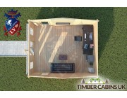 Log Cabin Whitewell 4.5m x 5.5m 004