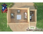 Log Cabin Wigan 5.5m x 3m 006