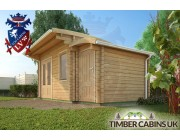 Log Cabin Wigan 5.5m x 3m 003