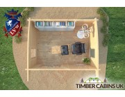 Log Cabin Wirral 4m x 3m 006