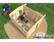 Log Cabin Wirral 4m x 3m 005