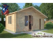 Log Cabin Wiswell 4.5m x 3.5m 001