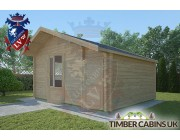 Log Cabin Wiswell 4.5m x 3.5m 002