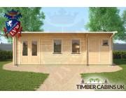 Log Cabin Wolverhampton 7.5m x 4m 004