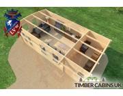 Log Cabin Wolverhampton 7.5m x 4m 005