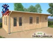 Log Cabin Wolverhampton 7.5m x 4m 003