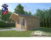 Log Cabin Worston 4.5m x 3m 002