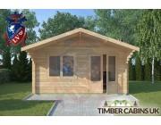 Log Cabin Worston 4.5m x 3m 003