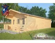 Log Cabin Wray 5m x 9m 002