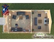 Log Cabin Wray 5m x 9m 004