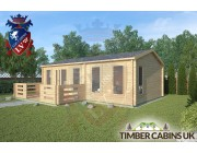 Log Cabin Wrightington 7.5m x 4.5m 002