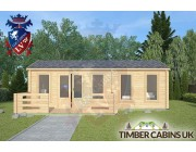 Log Cabin Wrightington 7.5m x 4.5m 003
