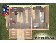 Log Cabin Wrightington 7.5m x 4.5m 004