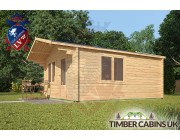 Log Cabin Wycombe 4m x 5m 002