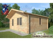 Log Cabin Yealand Conyer 5m x 5m 002
