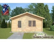 Log Cabin Yealand Conyer 5m x 5m 003