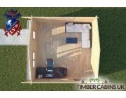 Log Cabin Yealand Conyer 5m x 5m 004