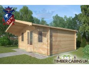 Log Cabin Dalton 5m x 4m 002