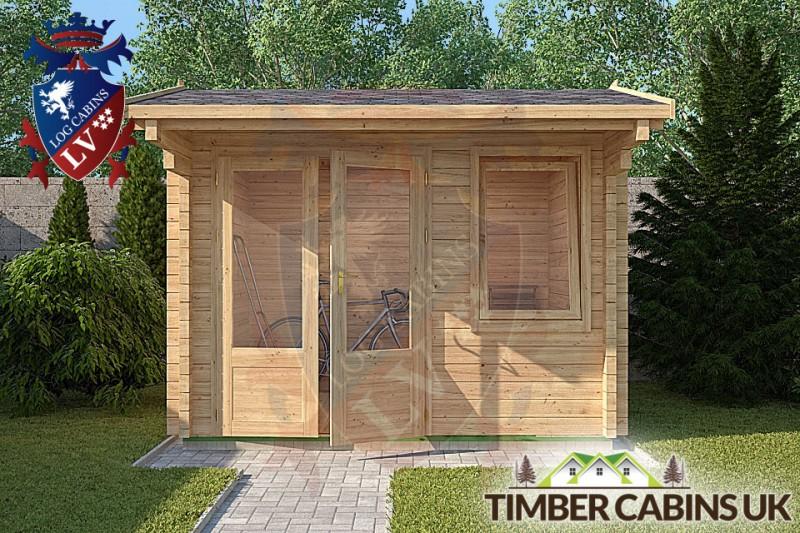 Log Cabin Wychavon 2.95m x 2.35m 001