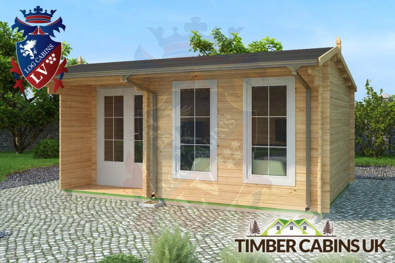 Log Cabin East Hertfordshire 5m x 3.5m 001