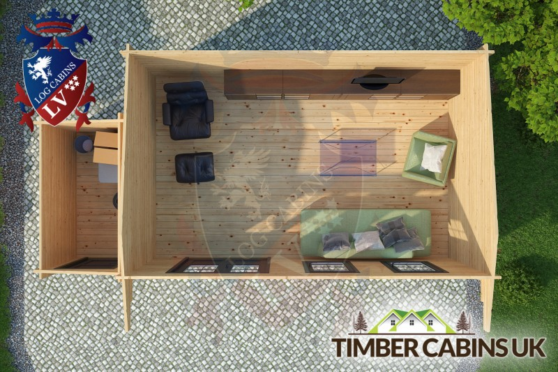Log Cabin Epping Forest 7.0m x 3.5m 001