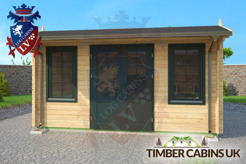 Log Cabin Guildford 4.5m x 4.5m 001