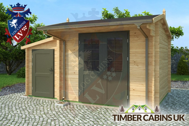 Log Cabin Mid Sussex 4.5m x 3m 001