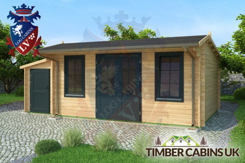 Log Cabin Newcastle-under-Lyme 6.5m x 4m 001