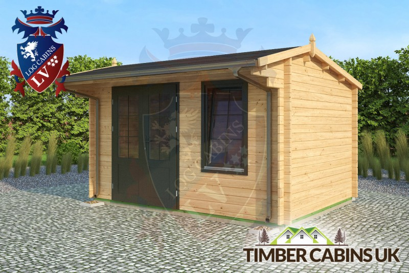 Log Cabin Norwich 4m x 3m 001