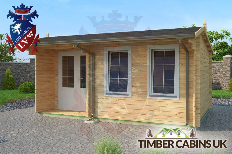 Log Cabin Powys 5m x 3.5m 001