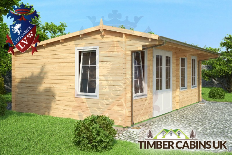 Log Cabin South Kesteven 6.5m x 4.5m 001