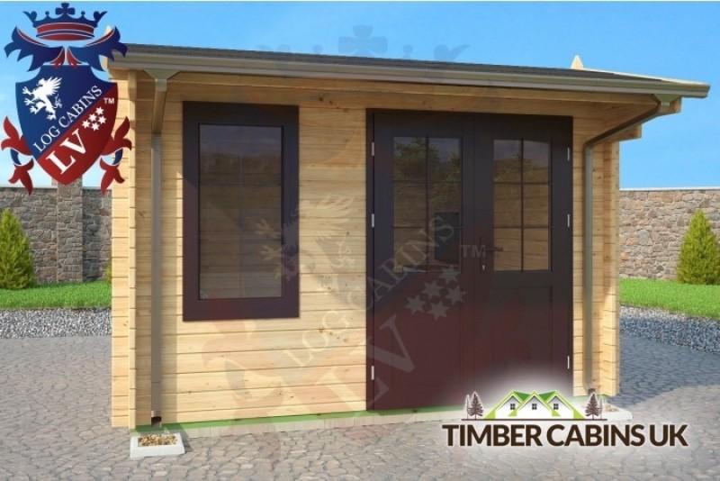 Log Cabin St Albans 3.5m x 3.5m 001