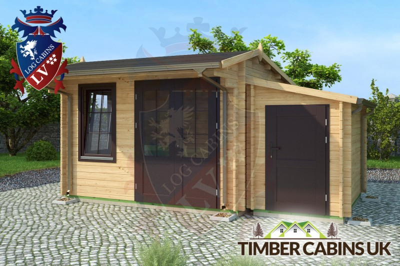 Log Cabin Stafford 5m x 3.5m 001