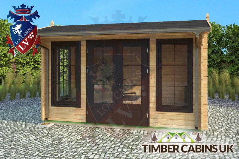 Log Cabin Thanet 4m x 4m 001
