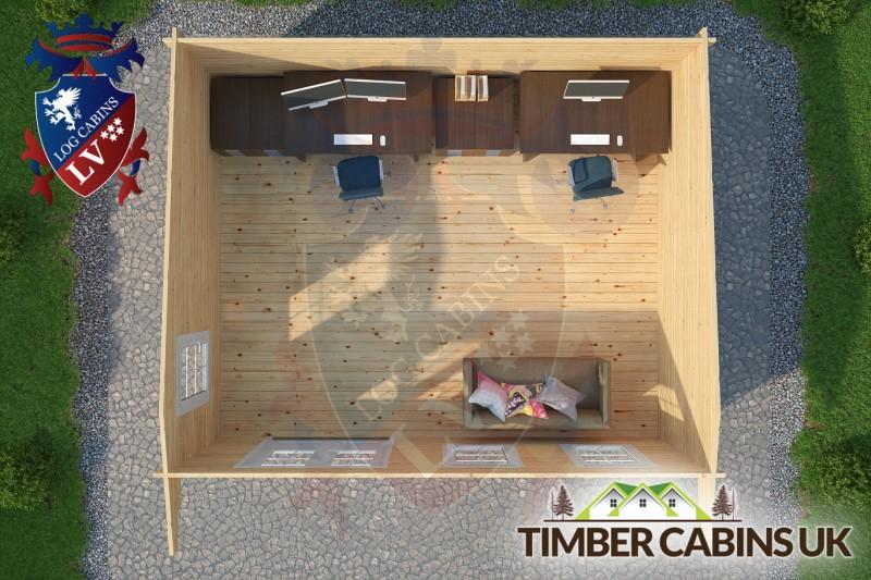 Log Cabin Warwick 5.5m x 4.5m 001