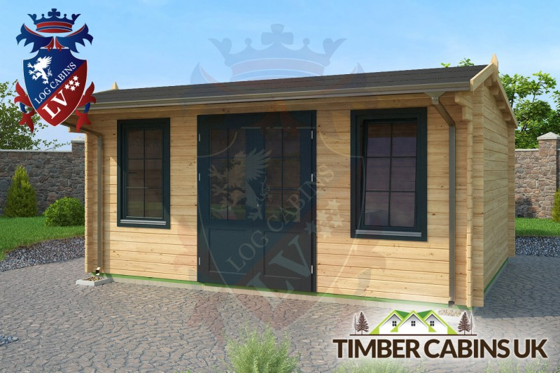 Log Cabin Wrexham 5m x 4m 001