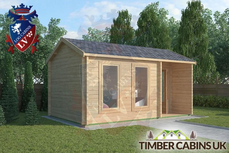 Log Cabin Abbeystead 5m x 3m 001
