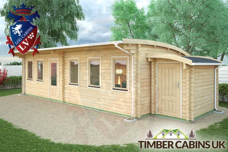 Log Cabin Aberdeen 10m x 4m 001