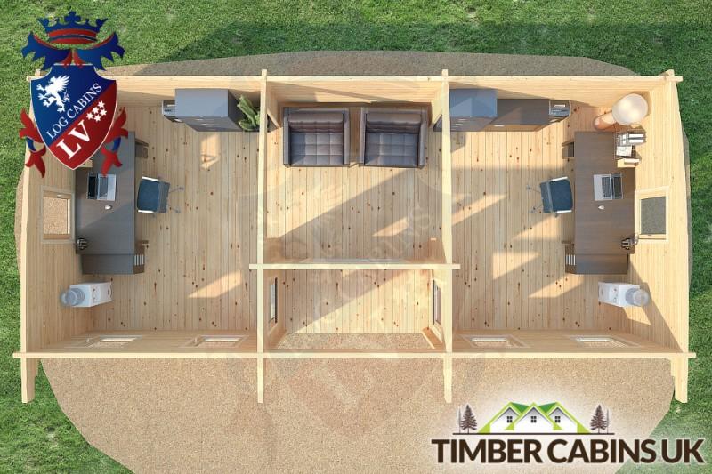 Log Cabin Aberdeenshire 9m x 4m 001